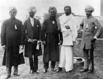 CHICAGO, SEPTEMBER 1893 -- The East Indian Group