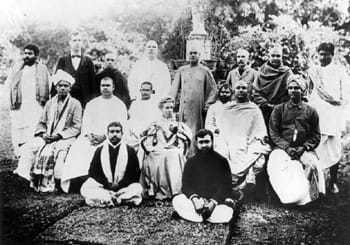KOLKATA, FEBRUARY 1897 - At Gopal Lal Seal's Garden House