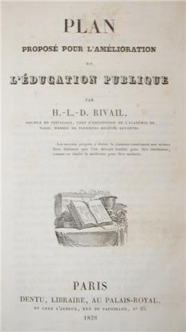Allan Kardec, éducation publique