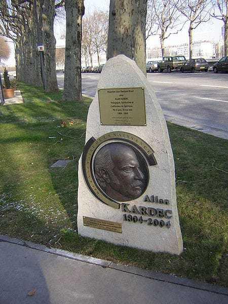 Allan Kardec, mémorial à Lyon