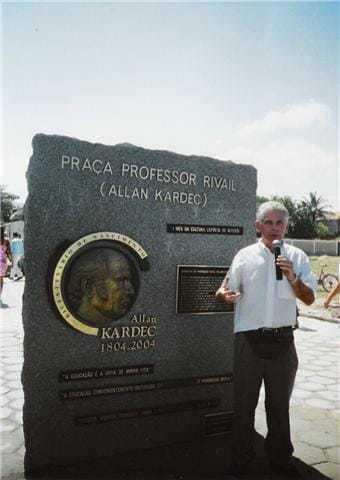 Allan Kardec, mémorial au Brésil
