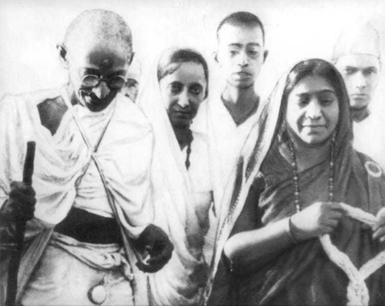 Sarojini Naidu became the second woman to preside over the Congress after Annie Besant.