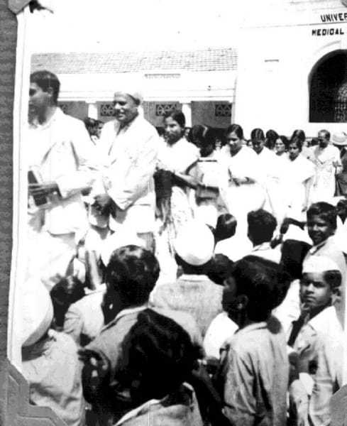 The Quit India movement marked the begining of the last phase of British rule in India. Starting from the August Kranti Maidan, the movement spread like wild-fire through the country, culminating with India's Independence in 1947. August 9, 1942.