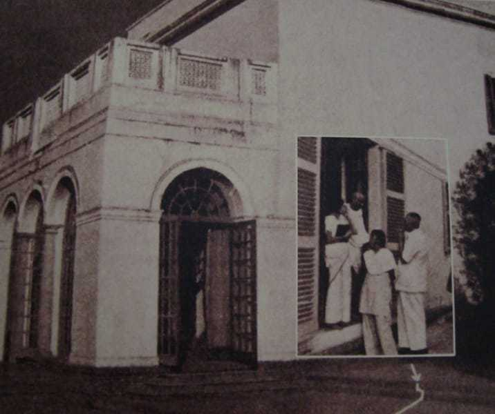 On 30, January 1948. at 5.00 pm Mahatma Gandhi left for the prayer.