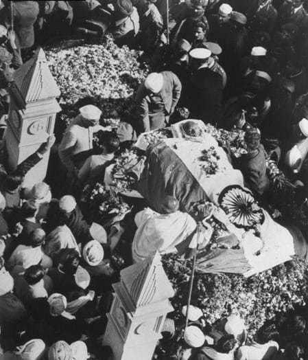 Mahatma Gandhi, the last journey, January 31, 1948