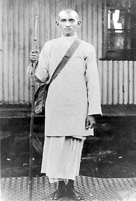 During the satyagraha campaign, 1913