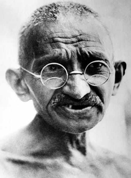 Mahatma Gandhi, Dandi March (Salt Satyagraha). March 12, 1930.