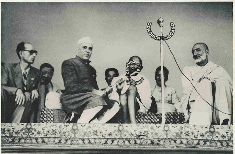 """On March 23, 1947, Pandit Nehru hosted the Asian Relations Conference, chaired by Sarojini Naidu, to """"bring together the leading men and women of Asia on a common platform to study the problems of common concern to the people of the continent, to focus attention on social, economic and cultural problems of the different countries of Asia, and to foster mutual contact and understanding."""" March 23, 1947."""