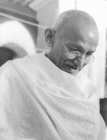 Gandhi in 1944.
