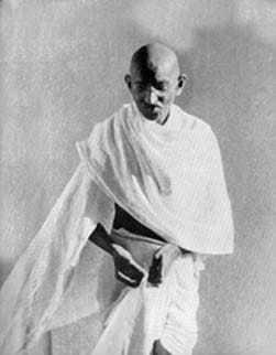 Gandhi in Rajkot. March 1939.