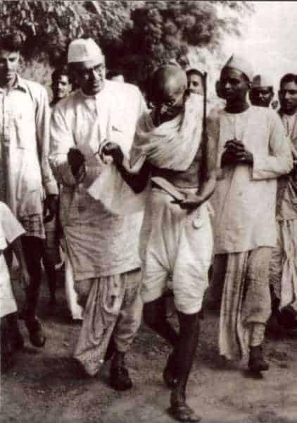 Mahatma Gandhiduring Ramgarh Congress, March 1940.