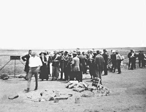 During_Transvaal_march_1913