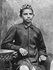 Gandhi in 1883