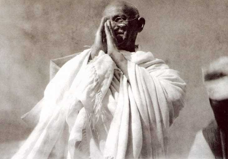 """""""If the Congress wishes to accept partition, it will be over my dead body. So long as I am alive, I will never agree to the partition of India. Nor will I, if I can help it, allow the Congress to accept it."""" - Gandhi, March 3rd, 1947."""