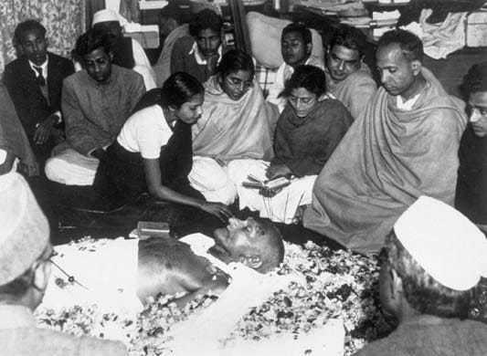 Flowers on the death bed January 31 1948