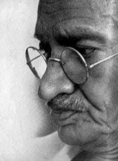 Gandhi. May, 1944.