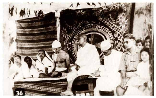 On February 6, 1928, Sardar Patel under Gandhi's leadership launched a Satyagraha in Bardoli against high taxes on farmers who were already reeling under floods and famine. It continued up till August 6, 1928, when an agreement was arrived at with the government.