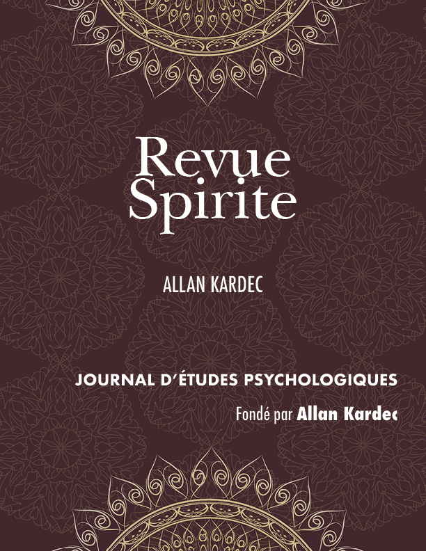 Collection Revue Spirite, Allan Kardec