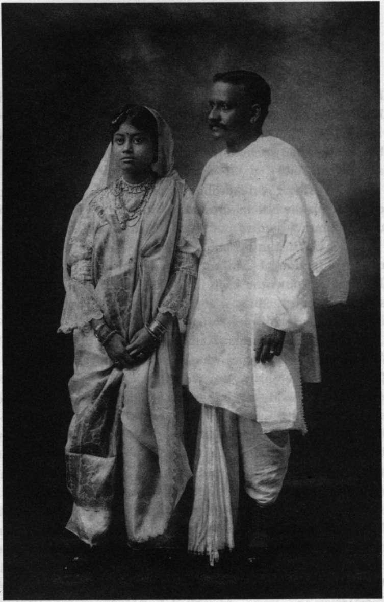 benoy bhushan with his wife umarani