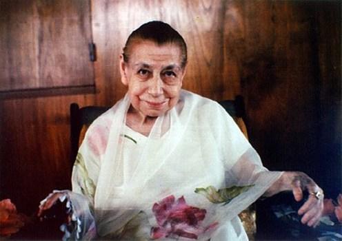 the-mother-in-sri-aurobindo-ashram