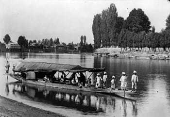 KASHMIR, 1898--In a Houseboat