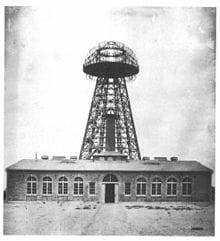 Tesla Broadcast Tower (1904)