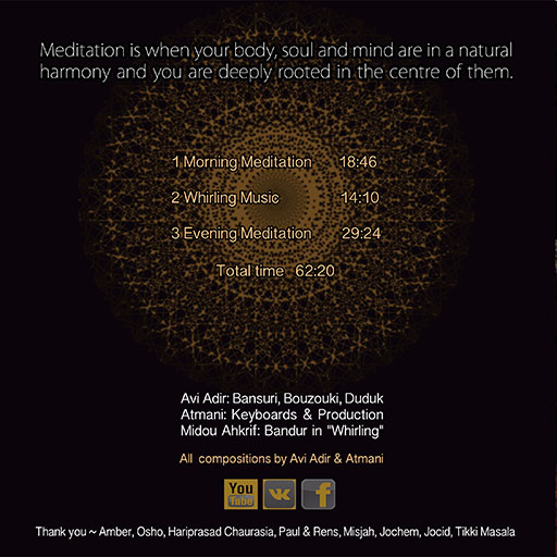 Avi Adir, Musica Divina per la Meditazione