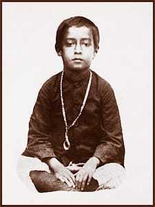 Paramahansa Yogananda at age 6