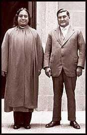 Paramahansa Yogananda and President of Mexico, Dr. Emilio Portes Gil, 1929