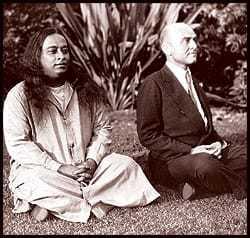 Paramahansa Yogananda and Rajarsi Janakananda (James J. Lynn), 1933