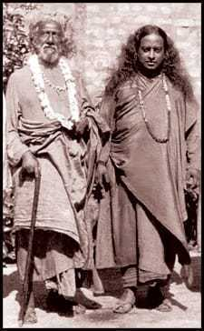 Sri Yukteswar and Paramahansa Yogananda in 1935