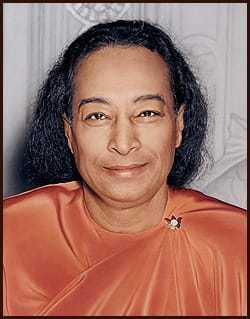 Paramahansa Yogananda's Last Smile, taken about one hour before his passing