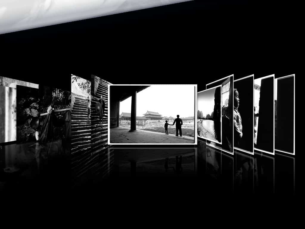China Black & White